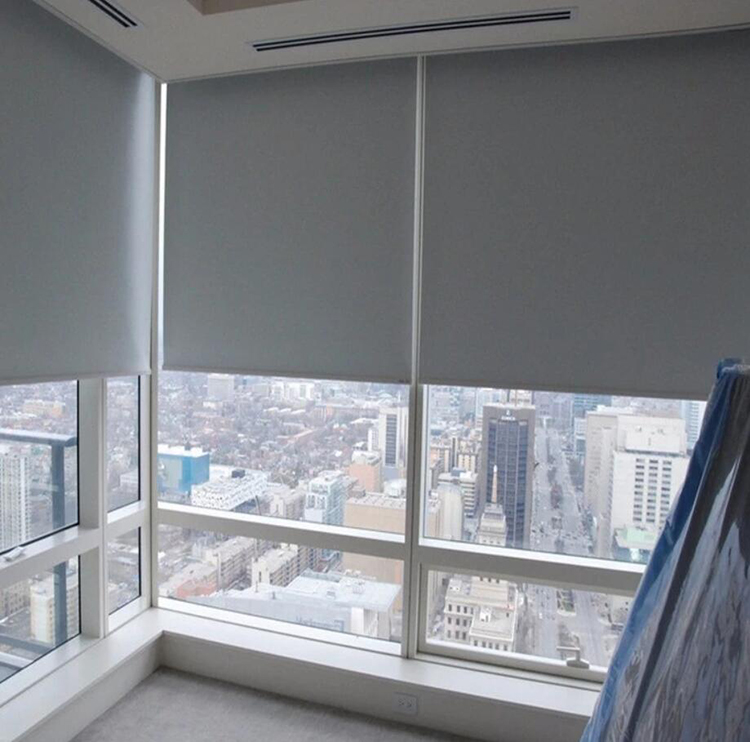 Customized fiberglass window blinds/blackout roller blind