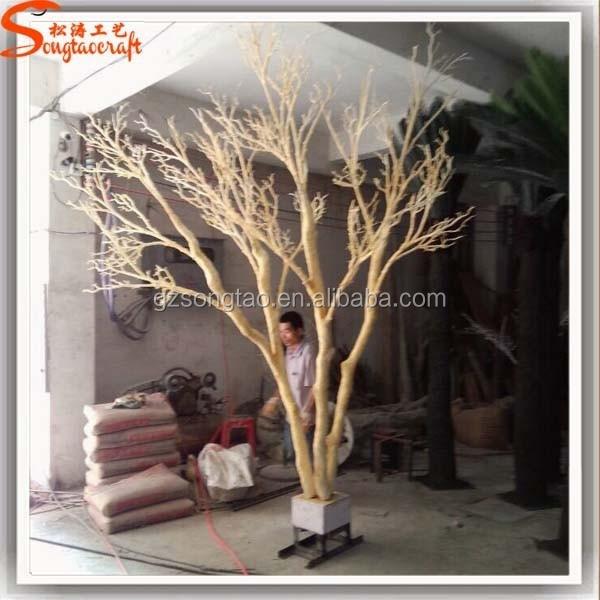 Artificielle laisse pas de tronc d 39 arbre en bois blanc - Tronc d arbre artificiel ...