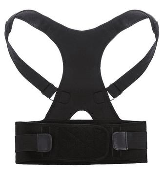 Correcteur de Posture ceinture Dos Épaule Brace Soutien Lombaire Médical  Nouveau Entièrement Réglable Ceinture de Renfort 020818e8661