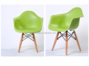 Cheap Colored Plastic Kids Chairs With Eiffel Legs Leisure Chairs