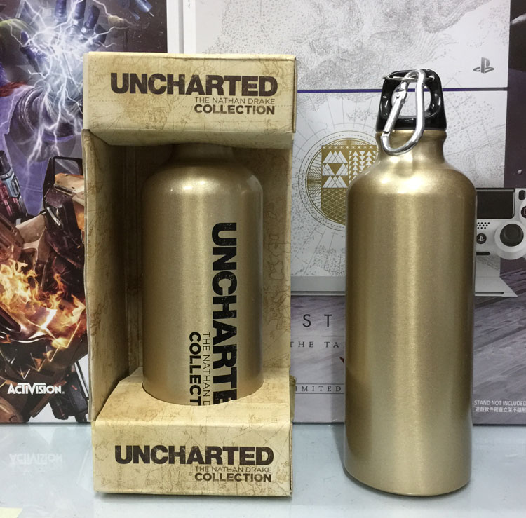 The Original Ps4 Game Collection Cup Uncharted 1 2 3 Limited Metal