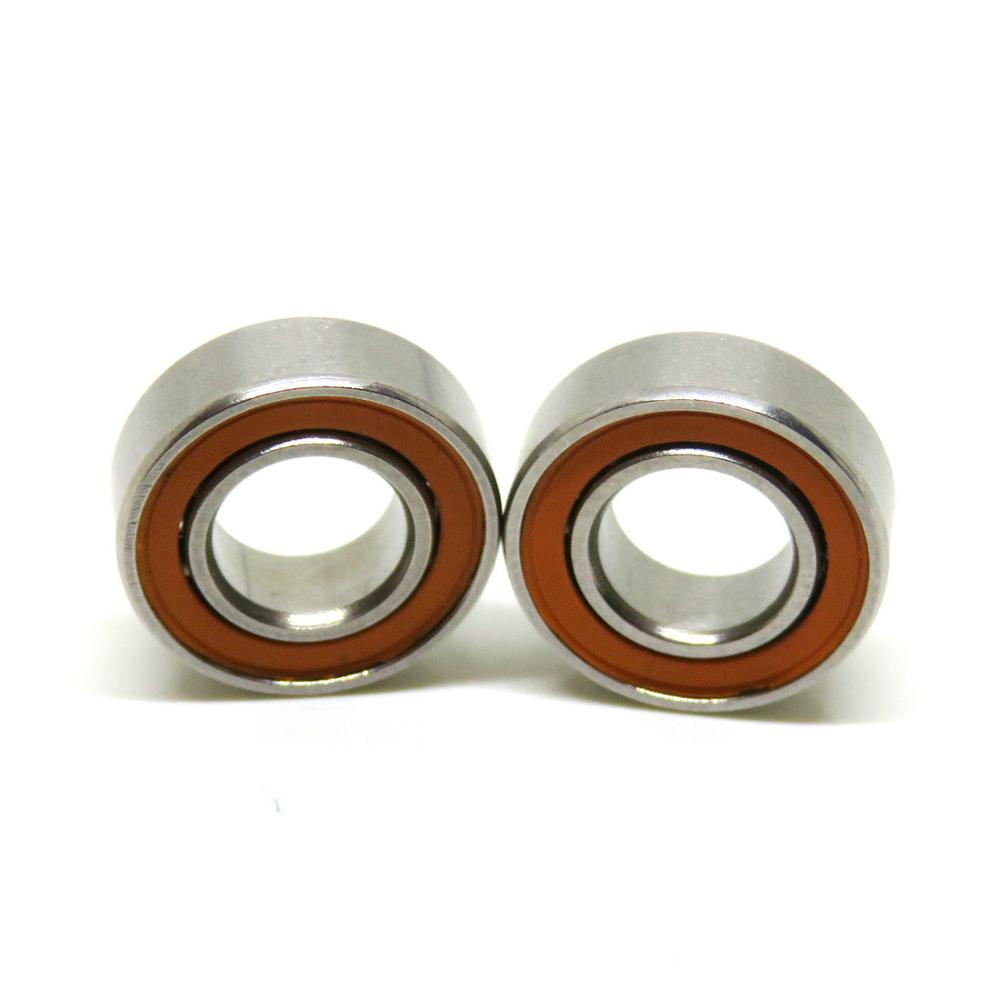 - 440C Stainless Steel Radial Ball Bearing 1 pc 6x12x4mm ABEC-7 SMR126 ZZ