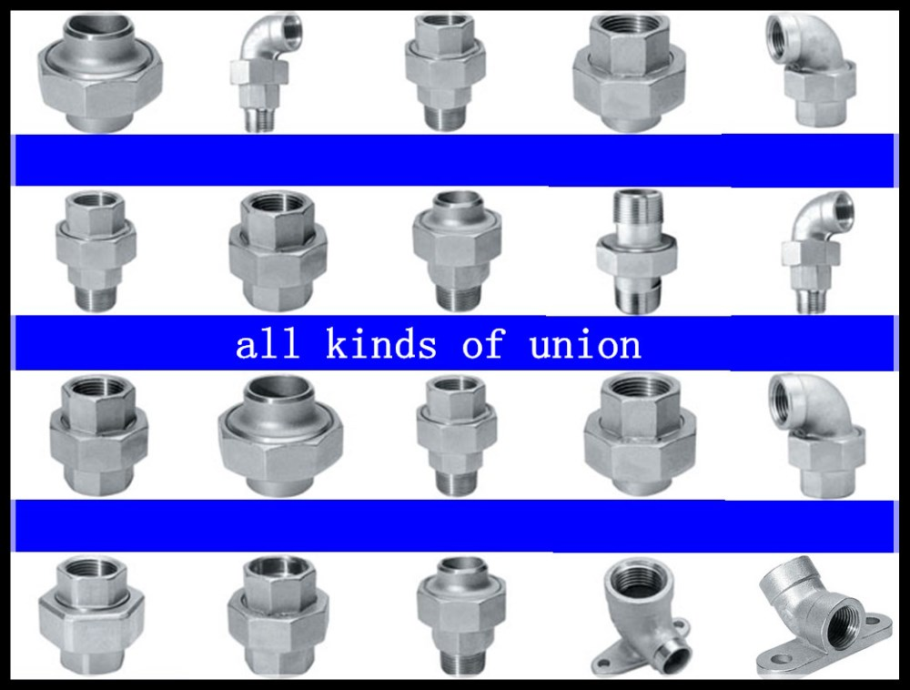 Inch stainless steel union pipe fitting buy