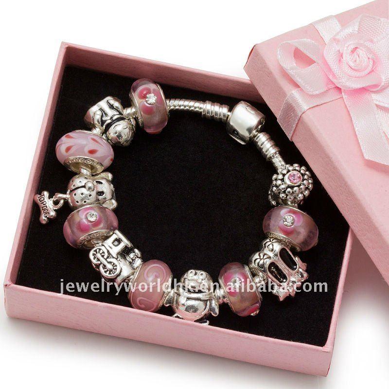 Kids Beaded Charm Bracelets