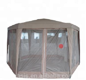 2x2x2 M De Jardin Hexagonale Gazebo Avec Des Panneaux En Maille Parois  Latérales Filet Pour Pique-nique,Les Fêtes En Plein Air Festivals Camping -  Buy ...