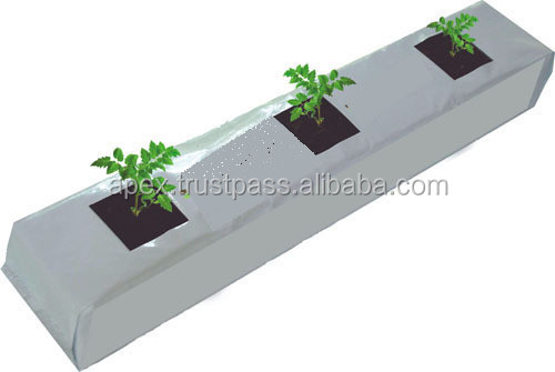 Coir growbags for growing green plants