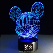 Mickey Modellazione LED A 4 Cifre 3/4/5/6/8/10/12 Pollice Orologio Display digitale
