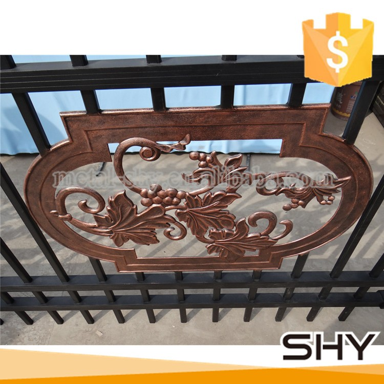Gate Grill Iron Grill: Aluminium Door Grill Designs Main Gate Designs/new House