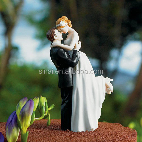 Beautiful Wedding Bride and Groom Cake Topper