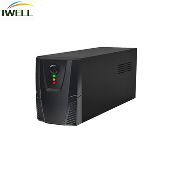400VA 240W full plastic Offline UPS  Backup energy power supply For Computer Power Backup