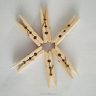 Manufacture natural bamboo clothespin bamboo pegs clothes clip cheap price