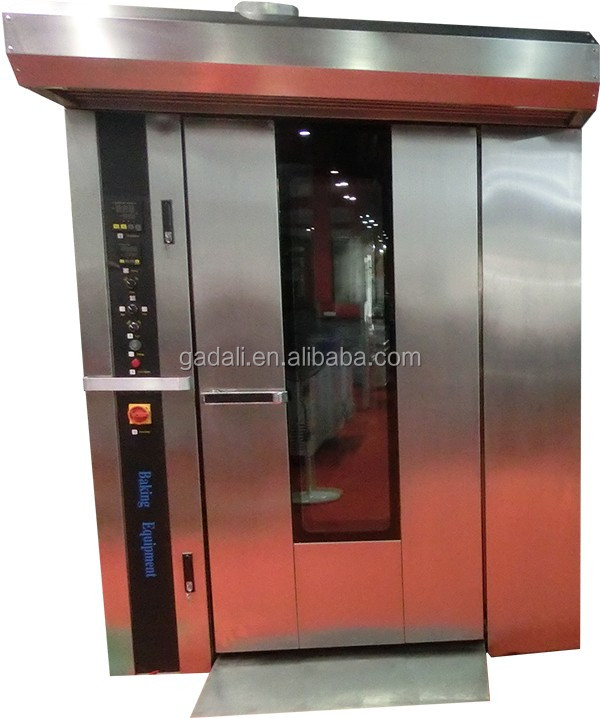 32 pans gas hot air rotary baking bakery oven prices for hotel