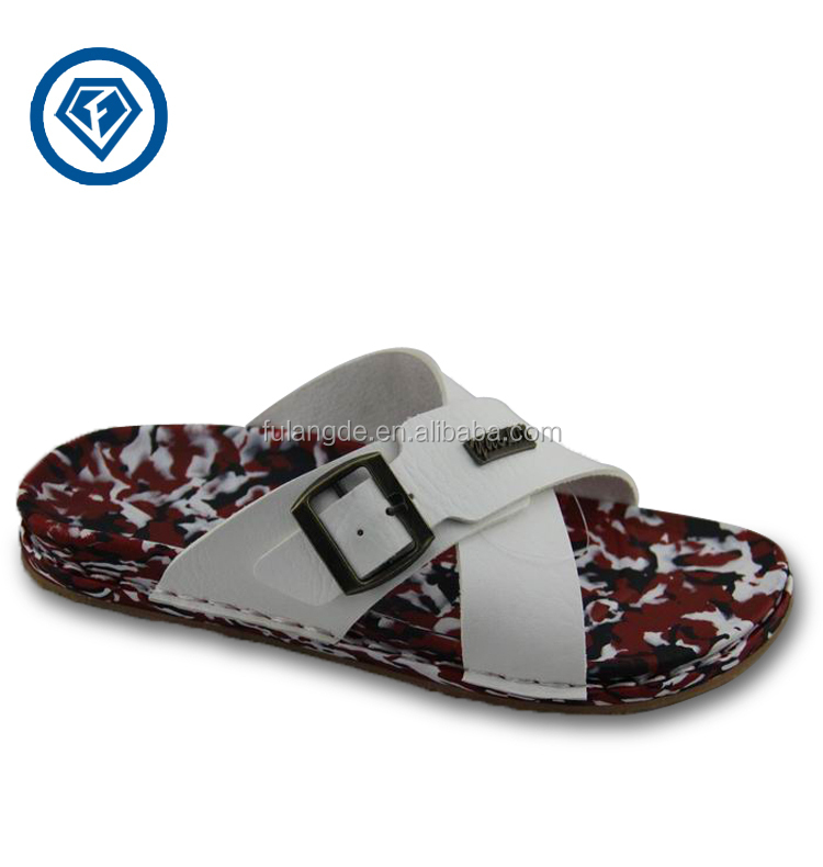 90e278c2013fe 2015 NEW Fashion Summer casual pu leather slippers men sandals trend  flip-flop