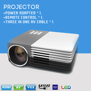 led projector Lowest Price multimedia Mini 4D Projector dmd /Beamer/Projector