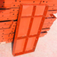 TSX-FW080 hot sale slab steel formwork system better than plastic formwork
