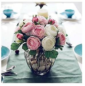 Cheap black and white artificial flowers find black and white artificial flowers arrangements for the home 91h ten heads artistic tea roses mightylinksfo