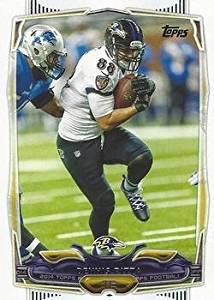 Dennis Pitta 2014 Topps NFL Football Card #263 Baltimore Ravens