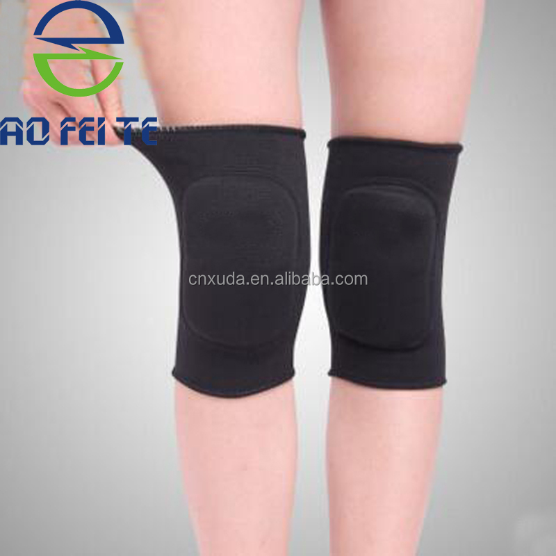 Sports Knee Protection Weight Lifting Knee Compression Sleeve Wraps Knee Pad For Work Buy Knee Pad Knee Support Knee Brace Product On Alibaba Com
