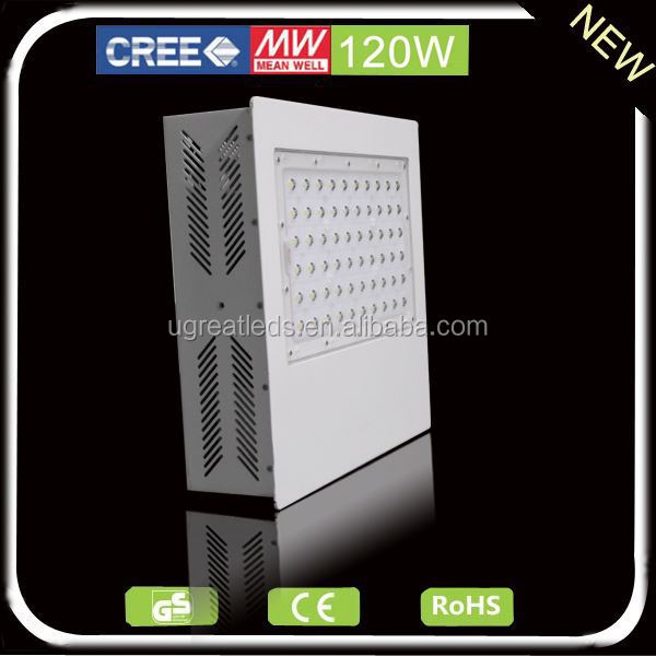Outdoor waterproof led canopy light 120w for gas station