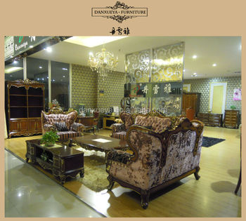 Neoclassical Wooden Carved Sofa Set Designs And Prices DXY 853#