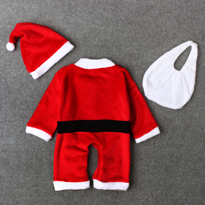 New arrival baby santa claus design kids christmas clothes