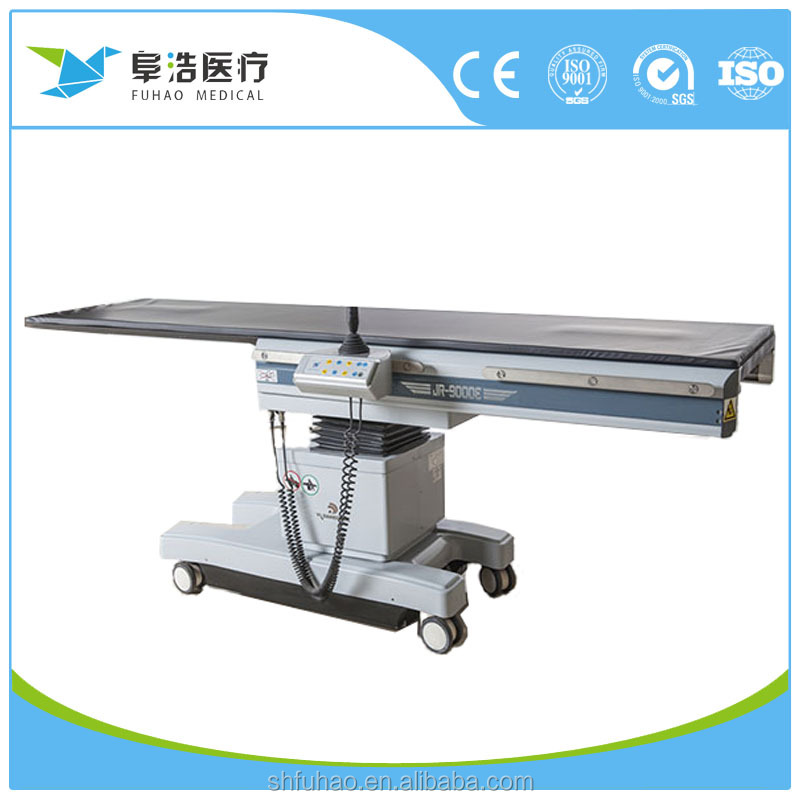 Electric operating table series JR-9000 Manual catheterization table