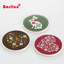 Vintage Sottobicchiere di Ceramica Bevande <span class=keywords><strong>Tabella</strong></span> Stuoia della Tazza Mug Tazza Dolomite <span class=keywords><strong>Coaster</strong></span>