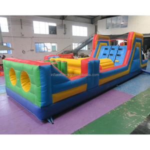 adult inflatable obstacle course, cheap inflatable race obstacle game, inflatable sport game