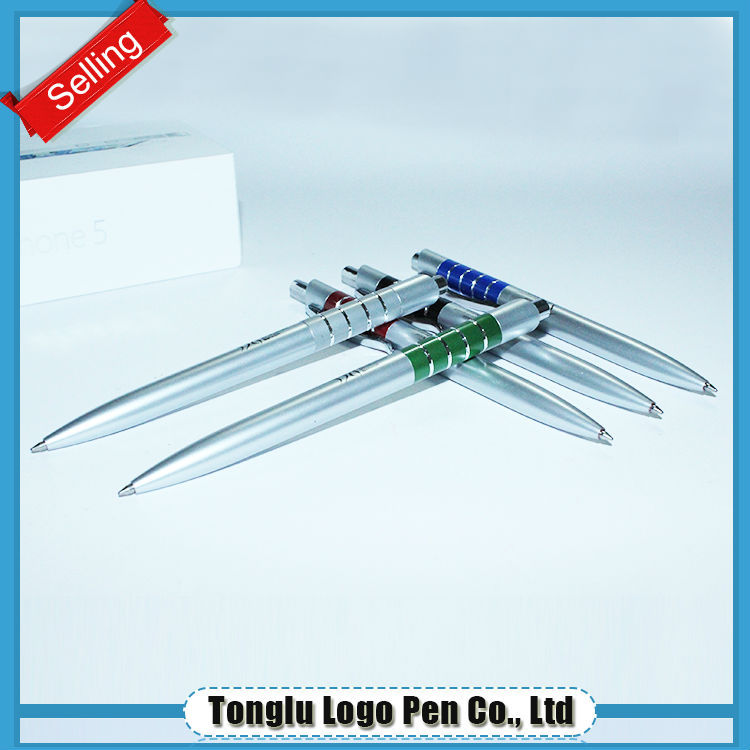 Top sale guaranteed quality white metal pen