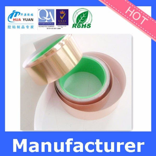 Non Conductive Epoxy : Non conductive and adhesive copper foil tape