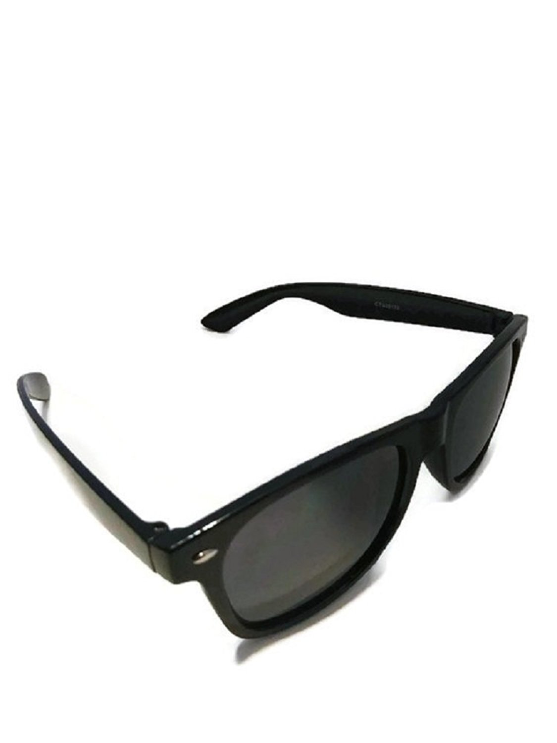 9ec01e959d29 Get Quotations · Dark Sunglasses Black Frame Black Lens Unisex 100 Percent  Uv 400 protection