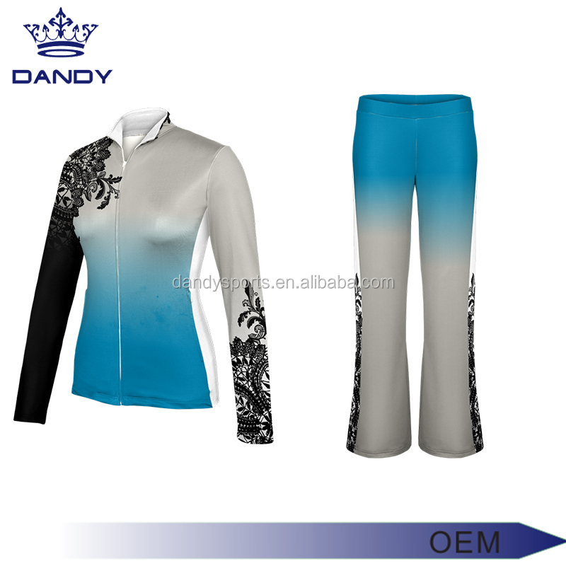 wholesale alibaba 2017 training tracksuits cheer swarm up tracksuit with sublimation