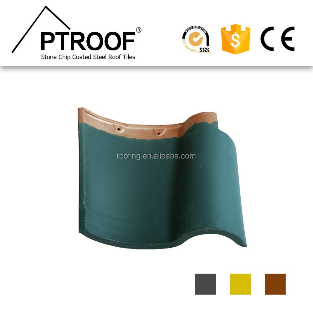 High stregth 13 mm fiberglass Matte Spanish clay/ceramic roof tile for bulding