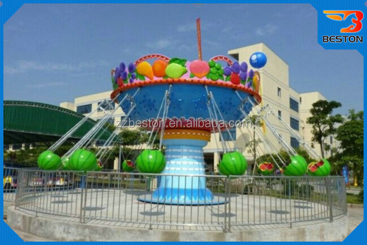 China Amusement Ride Game Watermelon Flying Chair Equipment ...