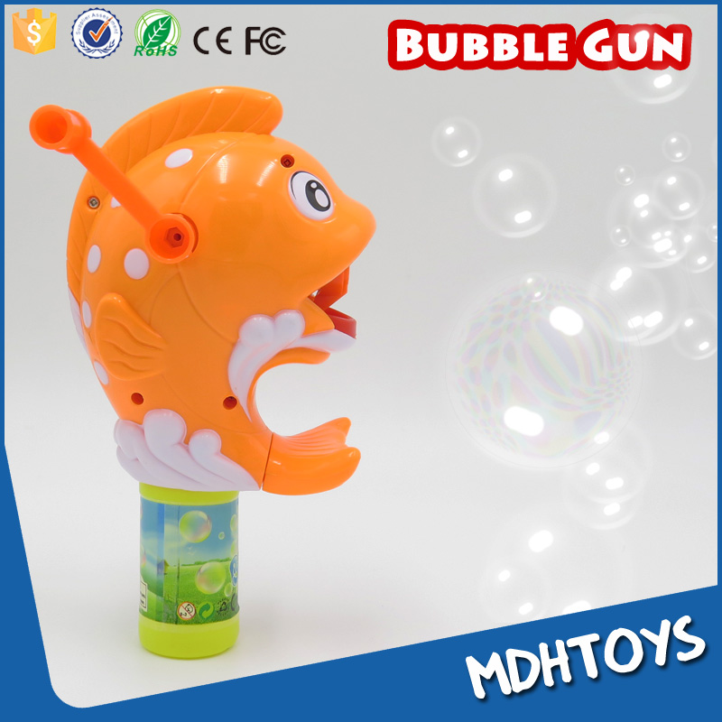 Blowing Soap Bubbles Toys Hand Drive Friction Bubble Gun Fish