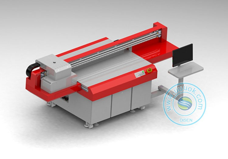 Industrial large format multifunction UV1512 dongzhi print head led uv printer