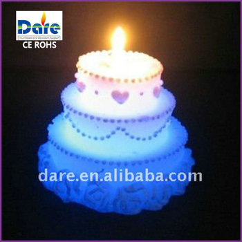 LED Color Changing Sparkling Birthday Candles