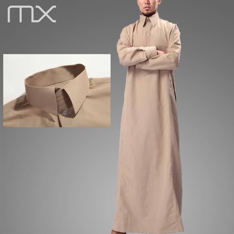 Designer Polo Style Jubbah Kaftan Arab Muslim Al Haramain Thawb ...