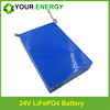 24v 30ah lifepo4 battery Li ion battery pack with high capacity/voltage for solar/windy systems energy storage