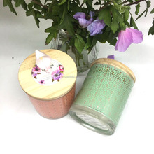 Customize scented jar candles soy wax candle for sale