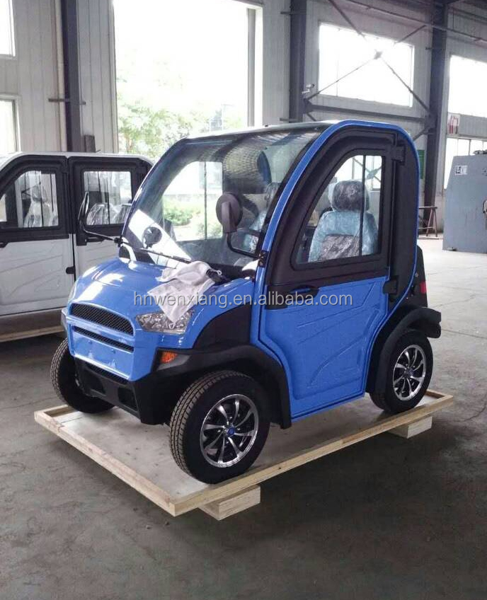 New 12v 120ah Battery 45km H Two Seater Chinese Mini Electric Car