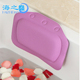 Wholesale Customizable Style Printing Massaging Bath Pillow,Bath Spa Pillow