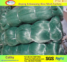 colourful HDPE plastic fishing net manufacturer