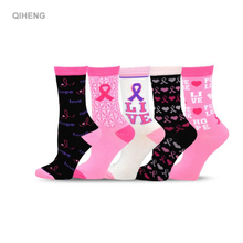 QH-I-0763 ruban rose <span class=keywords><strong>chaussettes</strong></span> sensibilisation au cancer du sein <span class=keywords><strong>chaussettes</strong></span> cancer du sein rose <span class=keywords><strong>chaussettes</strong></span>