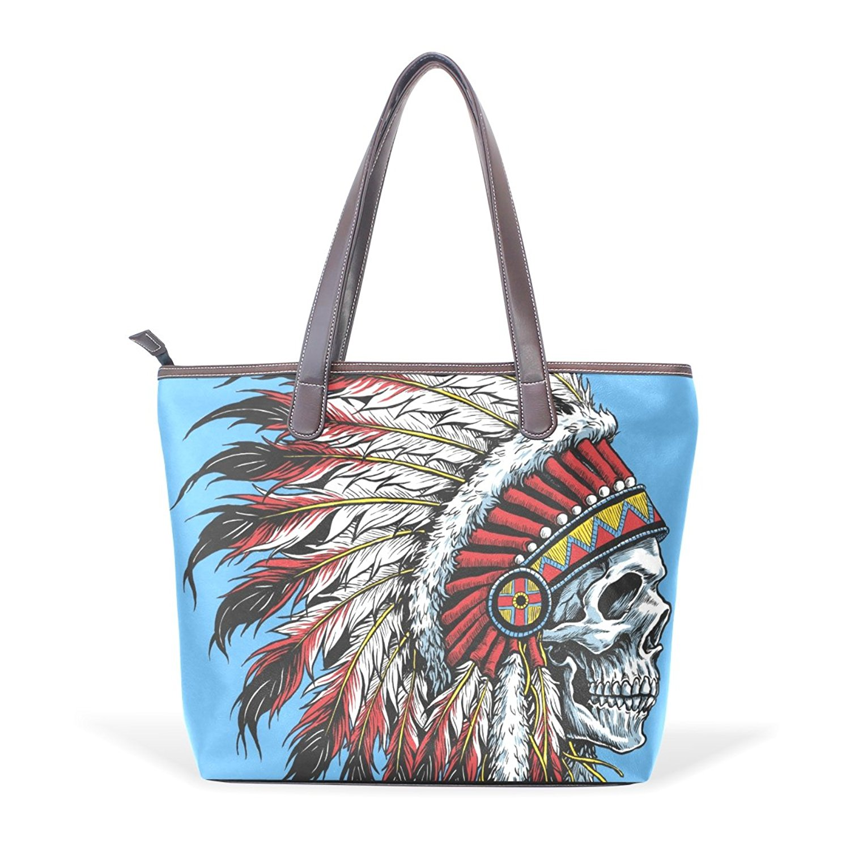 8d6e585606 Get Quotations · OPRINT handbags American Indian Tote Bags fine art Women  Top Handle Satchel Handbags Tote Purse Shoulder