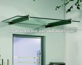 Glass door canopy with steel bracket buy tempered glass canopy glass door canopy with steel bracket planetlyrics Image collections