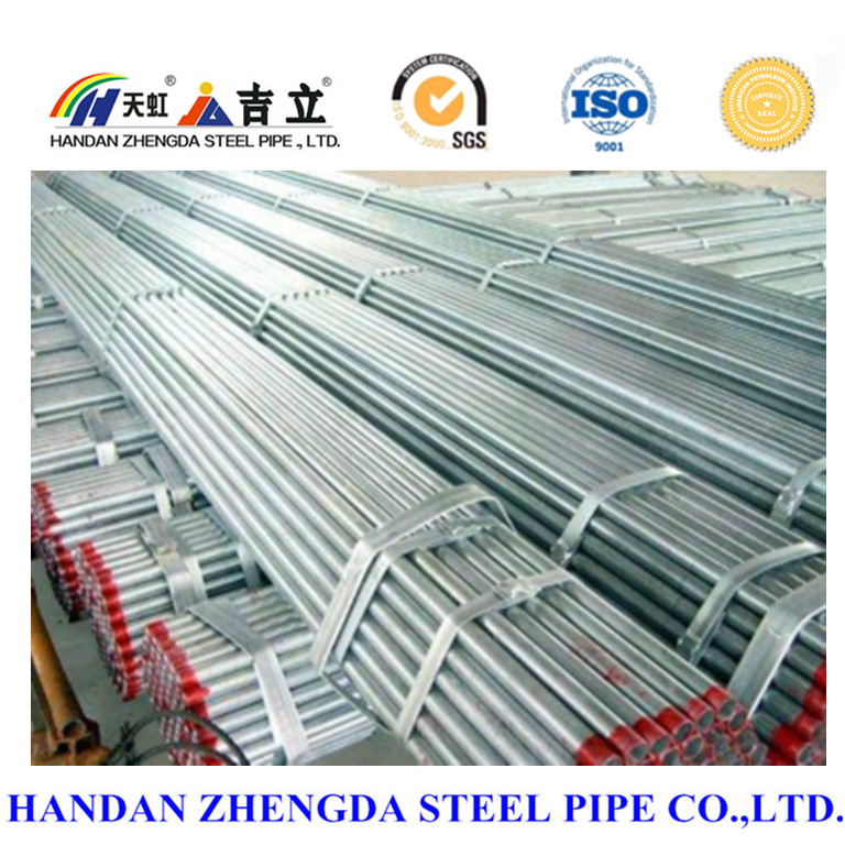 hot dip galvanized steel pipe for scaffolding