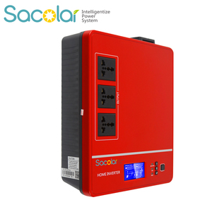 sacolar portable 700w 1400w solar converter small ups lightning inverter for camping