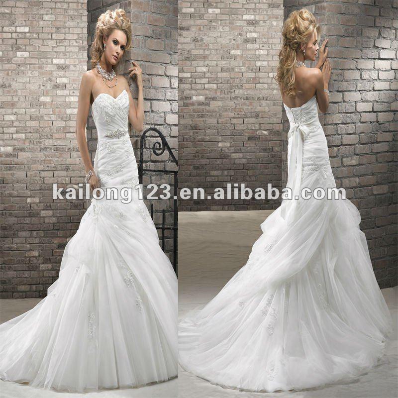 Aliexpress.com : Buy Newest Sweetheart Drop Waist A Line