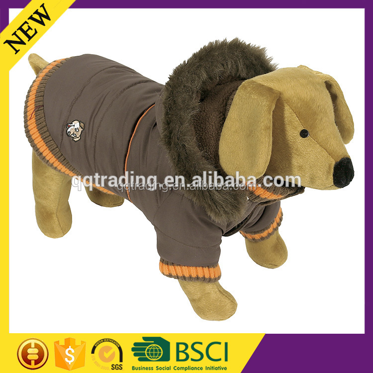 Plus size high quality fashion design hoodies waterproof greyhound dog coat